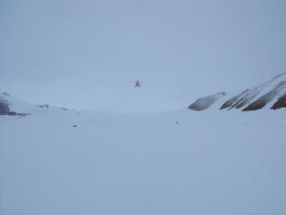 "La ""pista aerea"" di Browning Pass"